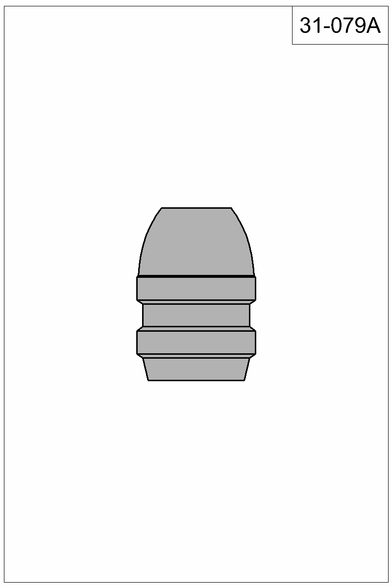 Filled view of bullet 31-079A.