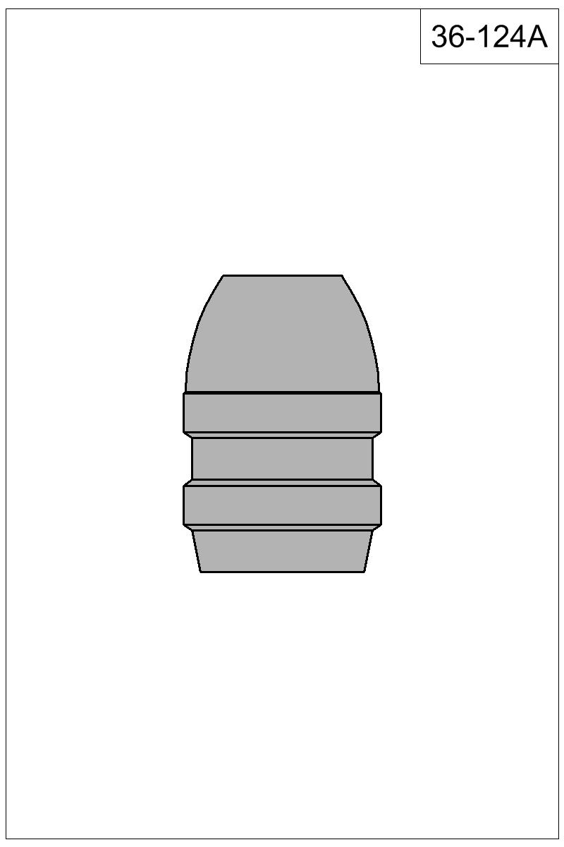 Filled view of bullet 36-124A.