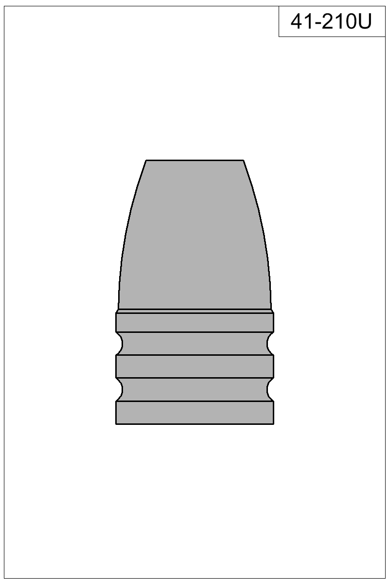 Filled view of bullet 41-210U.