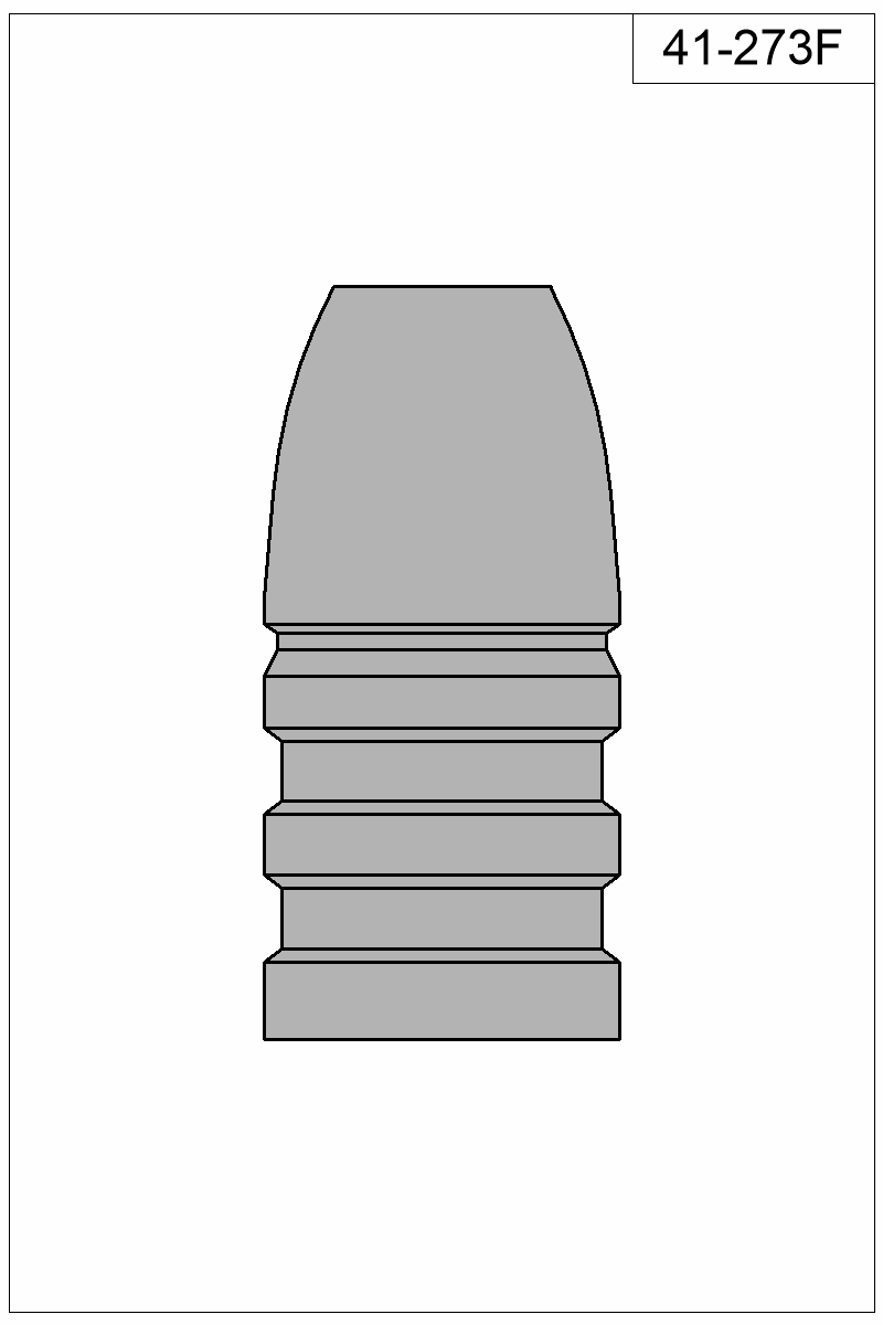 Filled view of bullet 41-273F.