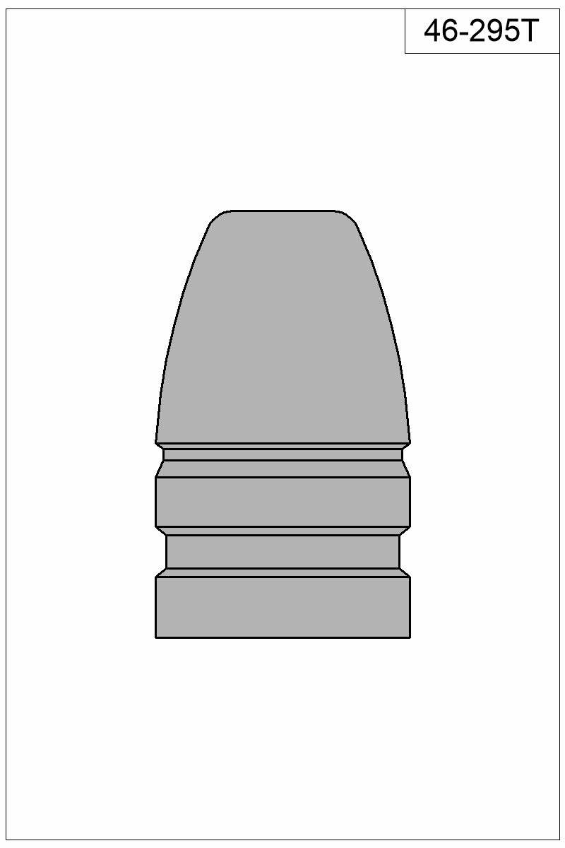 Filled view of bullet 46-295T.