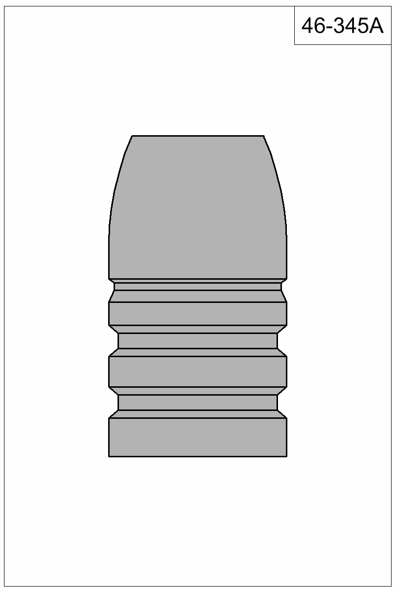 Filled view of bullet 46-345A.