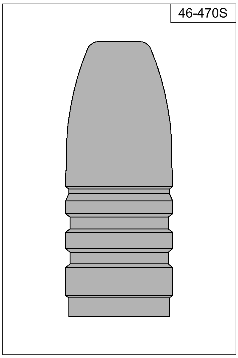 Filled view of bullet 46-470S.