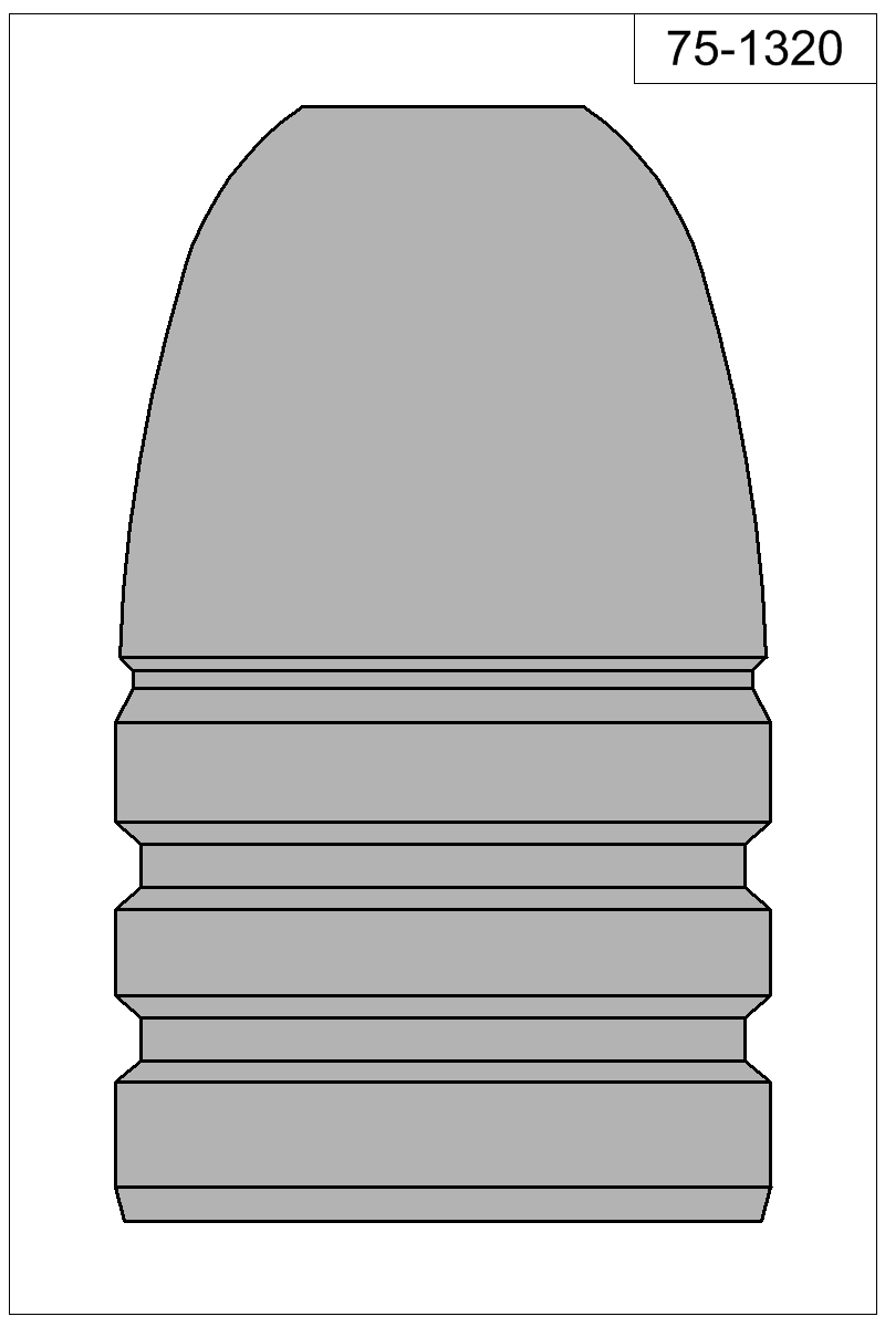 Filled view of bullet 75-1320.
